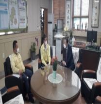 김천시, 관내 교육기관 방문 방역 대응 현장 점검