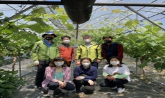 김천시 복지기획과, 일손이 부족한 농가에 큰 도움!!!