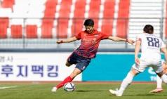 김천 상무, 득점-도움 1위, 서울E 꺾고 선두 재탈환 정조준!