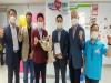 이철우 도지사, 윤창운 코오롱글로벌 대표이사에 감사패 수여